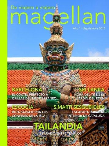 Revista de viajes Magellan - Septiembre 2015