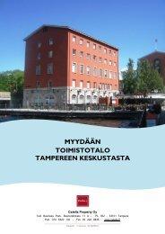 MYYDÄÄN TOIMISTOTALO TAMPEREEN KESKUSTASTA