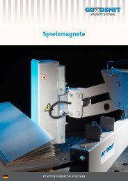 Brochure Spreizmagnete pdf - Goudsmit Magnetics