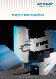 Download brochure (pdf) - Goudsmit Magnetics