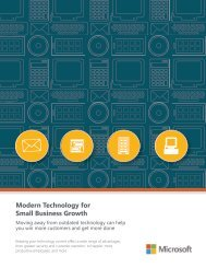 Up-to-Date Technology Propels Productivity Attract and Retain Customers