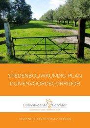 stedenbouwkundig plan DUIVENVOORDECORRIDOR