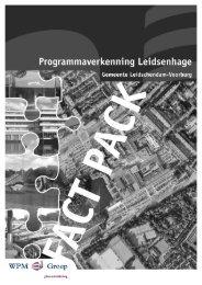 Programmaverkenning Leidsenhage