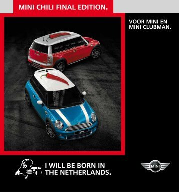 mini chili final edition I WILL BE BORN IN THE NETHERLANDS
