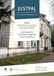 2012 JUSTPAL Public Prosecutors & Anti-Corruption Agencies COP ...
