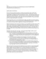 Tav (Adresseren aan de directie van het betreffende pensioenfonds ...