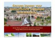 Genoeg kansen voor klimaatbeleid in Haagse krachtwijken