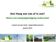 Risico zeespiegelstijging - Haags Milieucentrum
