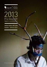 Prix Voies Off 2013
