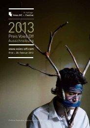 Der Preis Voies Off :: 2013