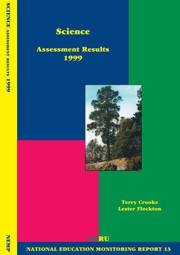 Science 1999 .pdf [24.4 MB] - NEMP - University of Otago