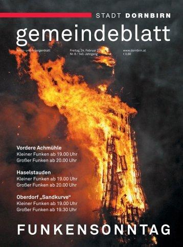 Dornbirner Gemeindeblatt KW 08 vom 25.02.2012
