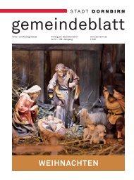 Dornbirner Gemeindeblatt KW 51 vom 23.12.2011