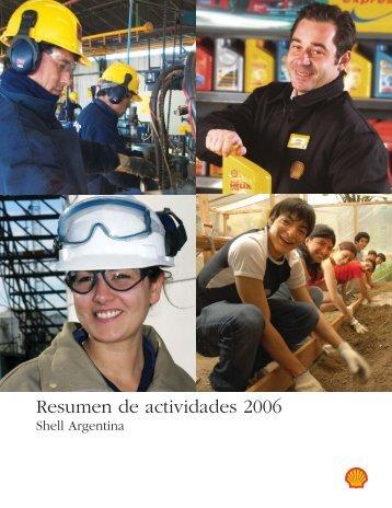 Resumen de actividades 2006