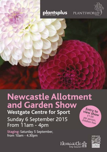 Newcastle Allotment and Garden Show