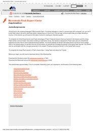 Macromedia Flash - ActionScript tutorial - HOME