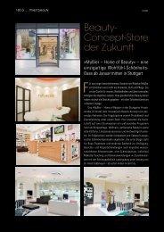 Beauty- Concept-Store der Zukunft