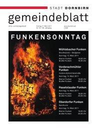Dornbirner Gemeindeblatt KW 10 vom 11.03.2011