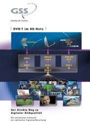 DVB-T im BK-Netz - GSS