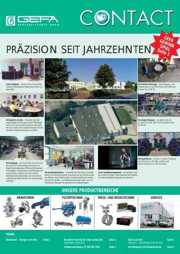 UND REGELTECHNIK SERVICE ... - GEFA Processtechnik GmbH