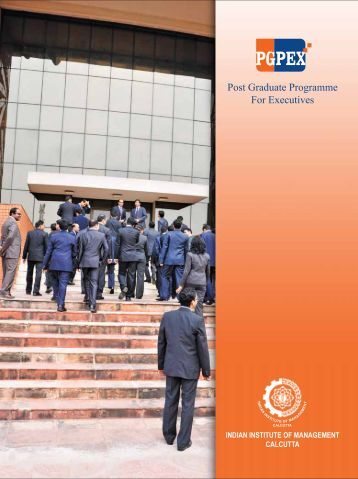 Post Graduate Programme For Executives