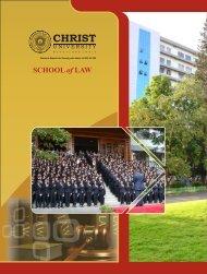 Broucher - Christ University