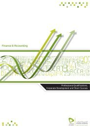 Finance & Accounting - Etisalat Academy