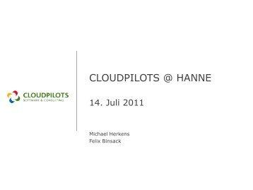 CLOUDPILOTS @ HANNE