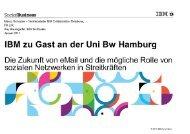 IBM zu Gast an der Uni Bw Hamburg