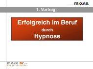 Erfolgreich im Beruf Hypnose