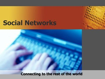 Social Networks- Overview
