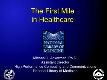 Telemedicine: Networks in the Service of Healthcare - FirstMile.US