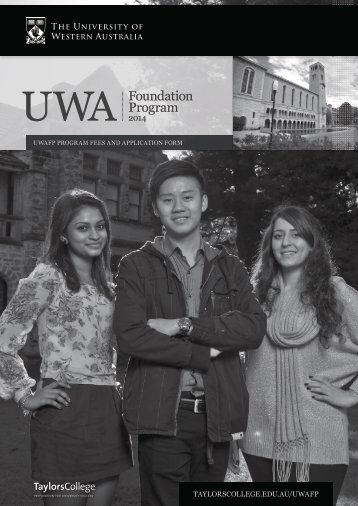 (UWAFP) application form - Taylors College