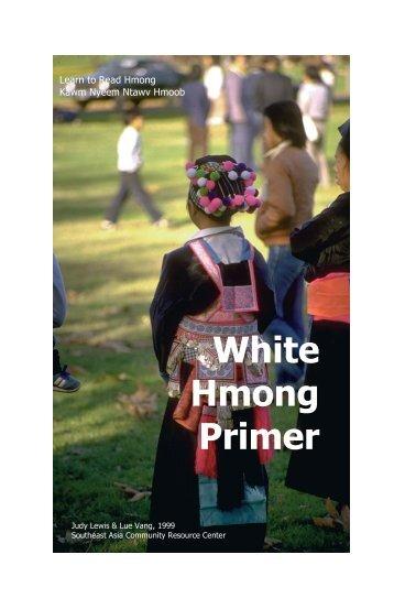 White Hmong Primer