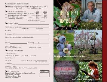 Plant & Pest Advisory
