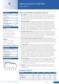 Highlands Pacific Limited (HIG) - Page 3