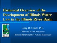 Law in the Illinois River Basin