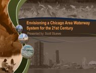 Envisioning a Chicago Area Waterway System for the 21st Century