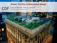 Water The Key to Restorative Design
