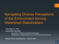 Navigating Diverse Perceptions of the Environment Among Watershed Stakeholders