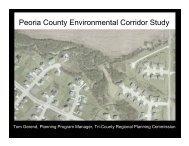 Peoria County Environmental Corridor Study