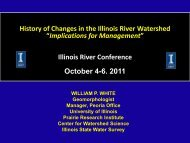 """""""Implications for Management"""" Illinois River Conference October 4-6 2011"""