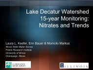 15-year Monitoring Nitrates and Trends