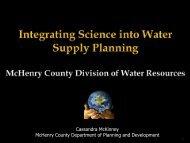 Cassandra McKinney McHenry County Department of Planning and Development