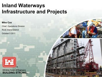 Inland Waterways Infrastructure and Projects