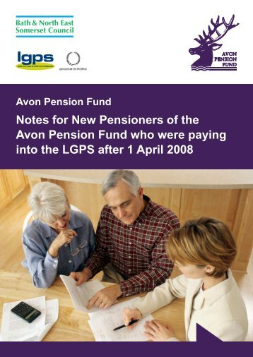 Notes for New Pensioners - After 1 April 2008 - the Avon Pension ...