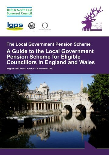 A guide for Eligible Councillors in England & Wales - the Avon ...