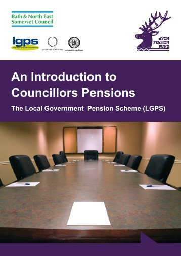 An Introduction to Councillors Pensions