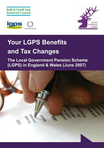 Your LGPS Benefits and Tax Changes