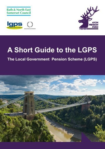 Highlights of the Local Government Pension Scheme (LGPS)